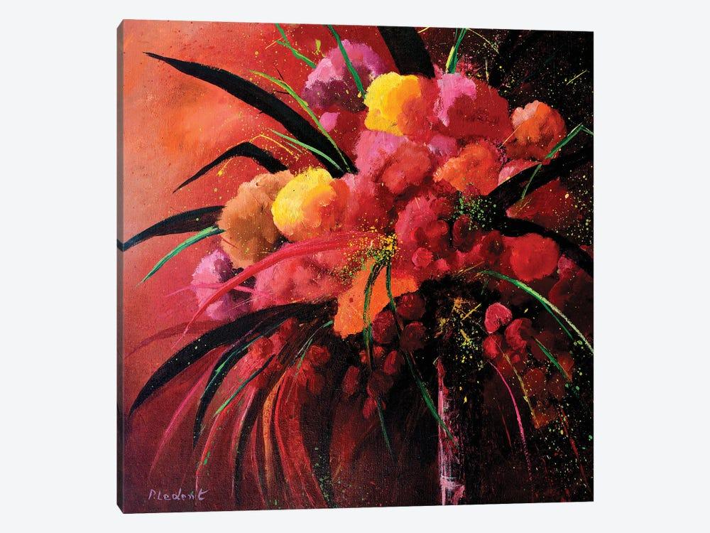 Pink Still Life by Pol Ledent 1-piece Canvas Artwork