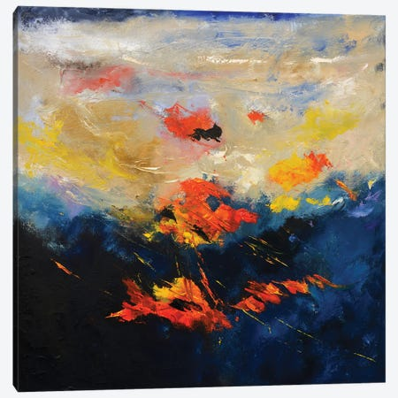 Here And There Canvas Print #LDT24} by Pol Ledent Canvas Artwork