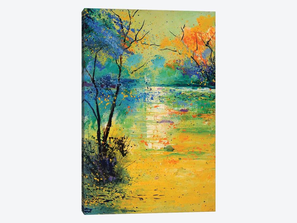 Light On A Pond by Pol Ledent 1-piece Canvas Art Print