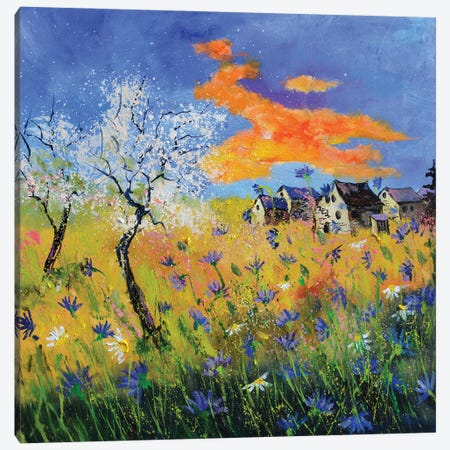 An After Covid Spring Canvas Print #LDT255} by Pol Ledent Canvas Artwork