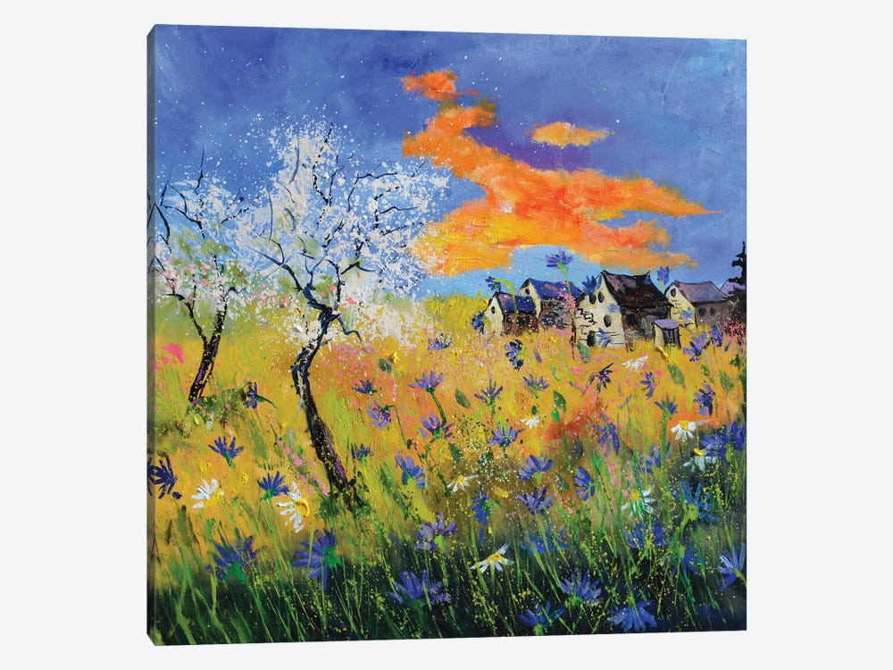 An After Covid Spring by Pol Ledent 1-piece Canvas Art