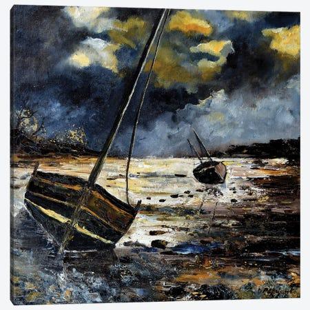 Seascape 78 Canvas Print #LDT258} by Pol Ledent Canvas Print