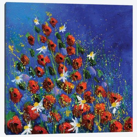 Poppies Flight Canvas Print #LDT264} by Pol Ledent Canvas Print