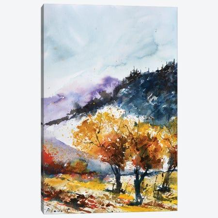 Approaching Autumn Canvas Print #LDT270} by Pol Ledent Art Print