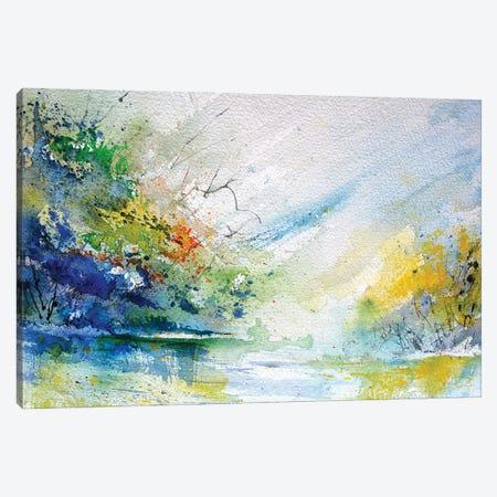 Quiet Waters Canvas Print #LDT273} by Pol Ledent Canvas Art Print