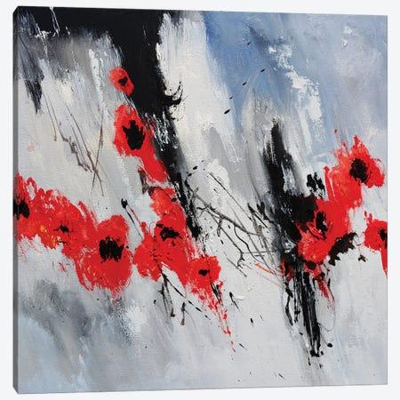 Flying Poppies Canvas Print #LDT279} by Pol Ledent Canvas Print