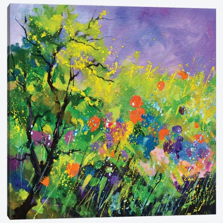 Summertime Canvas Print #LDT289} by Pol Ledent Canvas Wall Art
