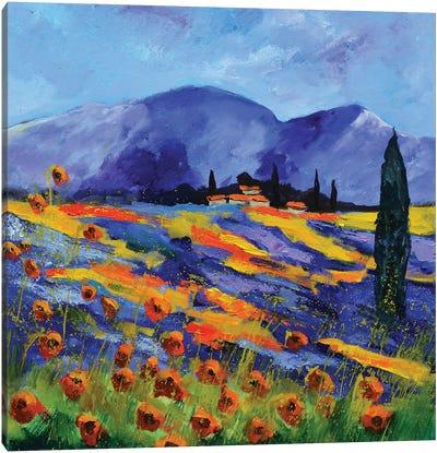 Provence Canvas Art Print