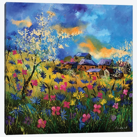 Summer Canvas Print #LDT31} by Pol Ledent Canvas Artwork
