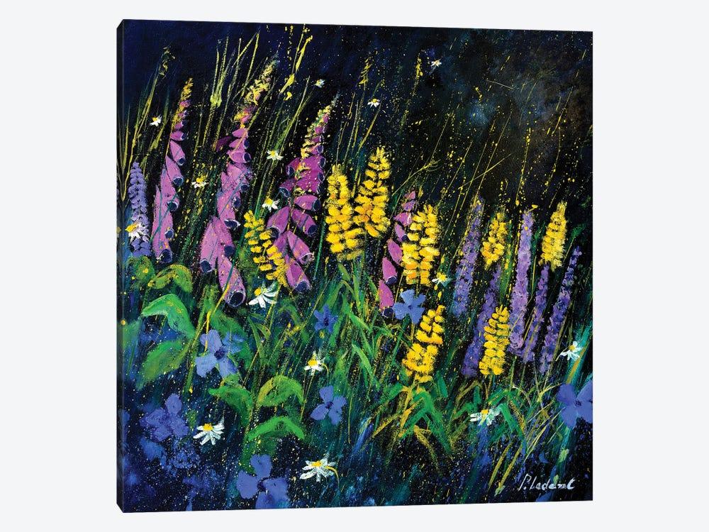 Garden Flowers by Pol Ledent 1-piece Canvas Artwork