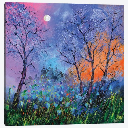 Magic Moonshine Canvas Print #LDT35} by Pol Ledent Canvas Print