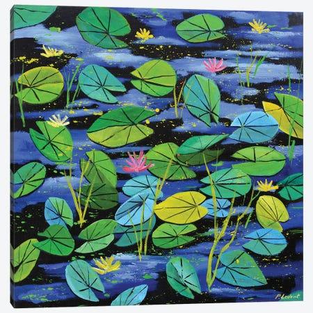 Waterlilies Canvas Print #LDT38} by Pol Ledent Canvas Art