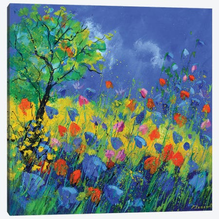 Summerdance Canvas Print #LDT46} by Pol Ledent Canvas Artwork