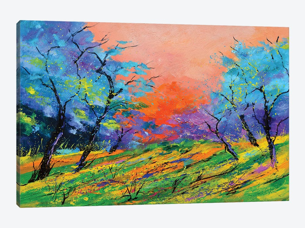 Happy Sunrise by Pol Ledent 1-piece Canvas Artwork