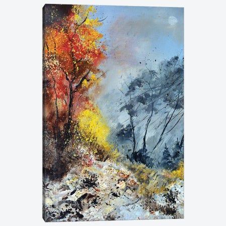 End of Autumn Canvas Print #LDT70} by Pol Ledent Canvas Wall Art