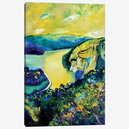 Yellow River Canvas Print #LDT9} by Pol Ledent Canvas Artwork