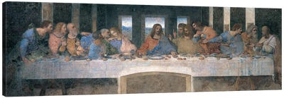 L'Ultima Cena (The Last Supper), Cropped Canvas Art Print