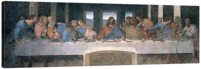 L'Ultima Cena (The Last Supper), Cropped Canvas Art Print