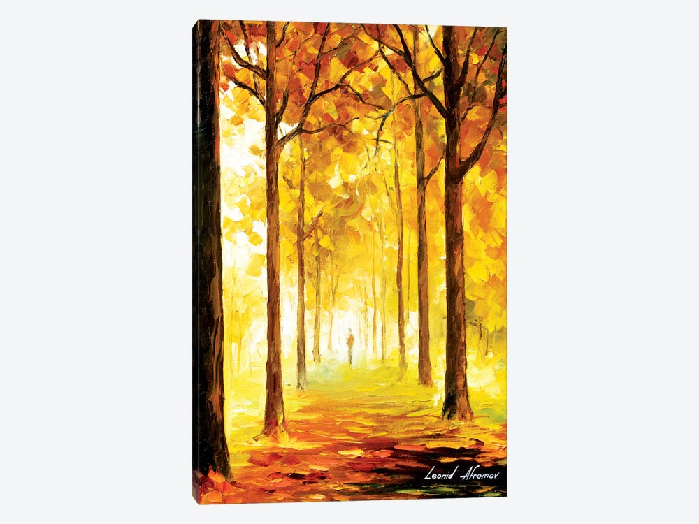 Yellow Mood by Leonid Afremov 1-piece Art Print