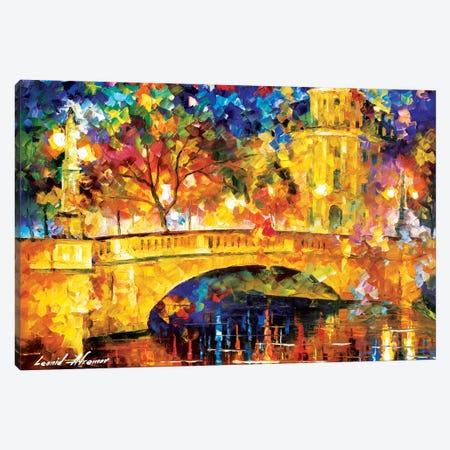 River City Canvas Print #LEA104} by Leonid Afremov Canvas Print