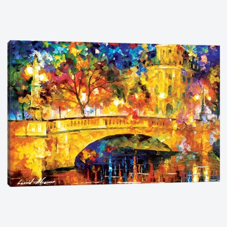 River City Canvas Print #LEA104} by Leonid Afremov Canvas Print