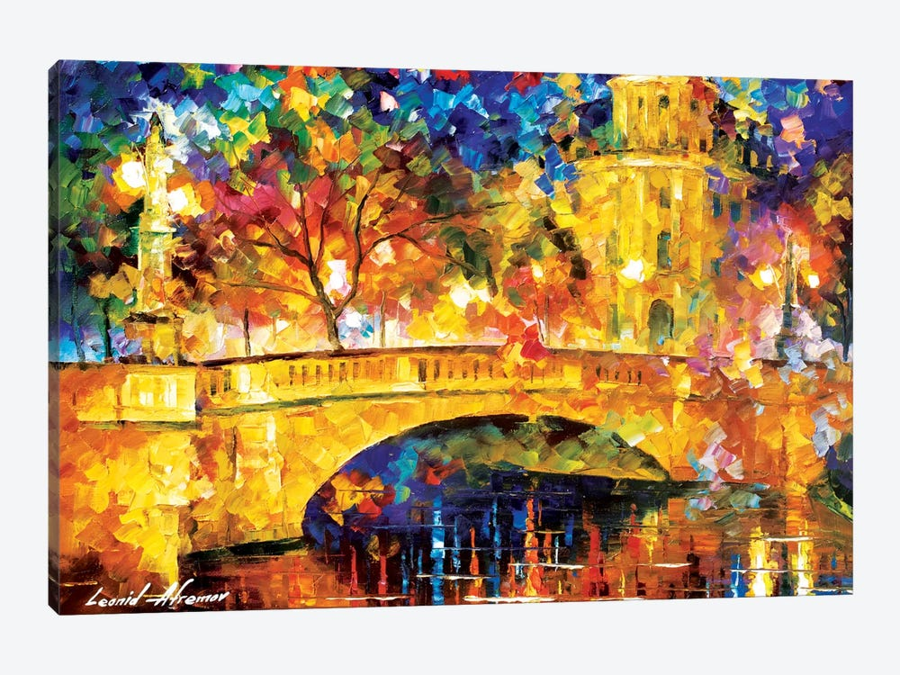 River City by Leonid Afremov 1-piece Art Print