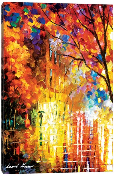 Impression Of Colors Canvas Art Print