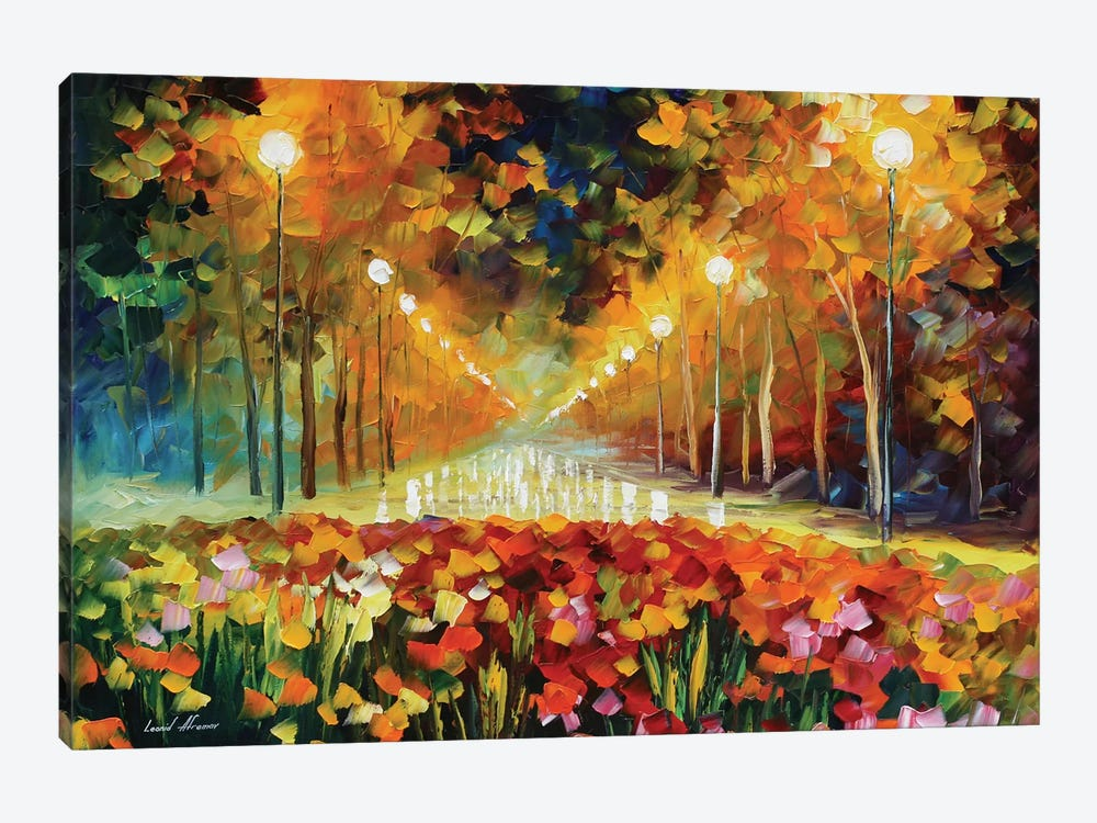 Alley Of Roses by Leonid Afremov 1-piece Art Print