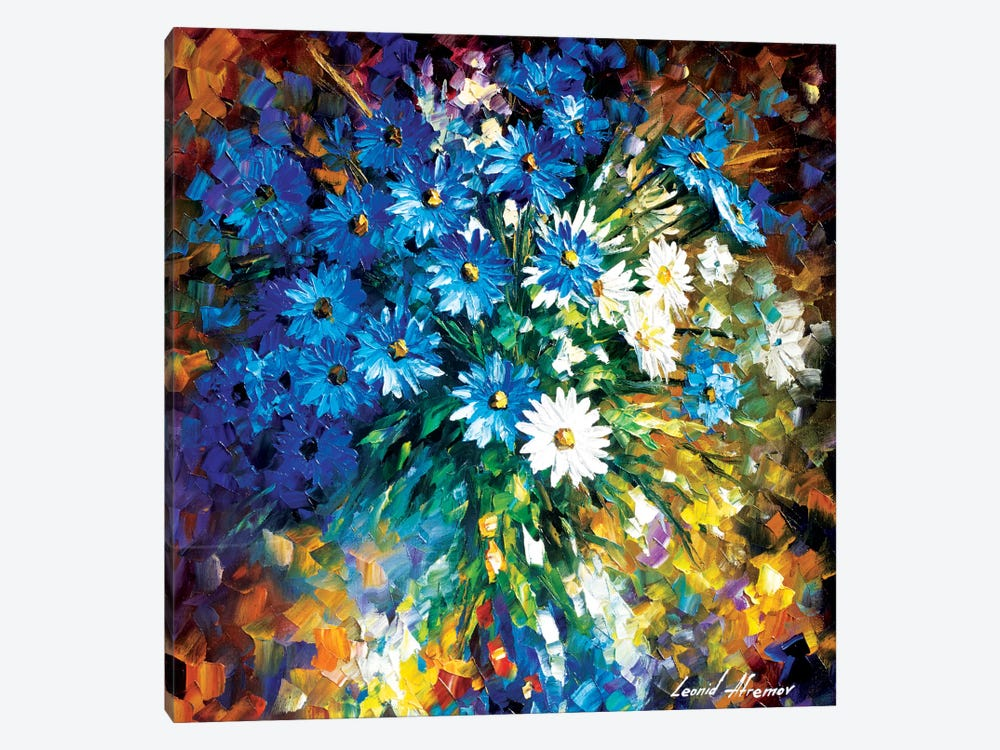Bouqet Of Happiness by Leonid Afremov 1-piece Canvas Artwork