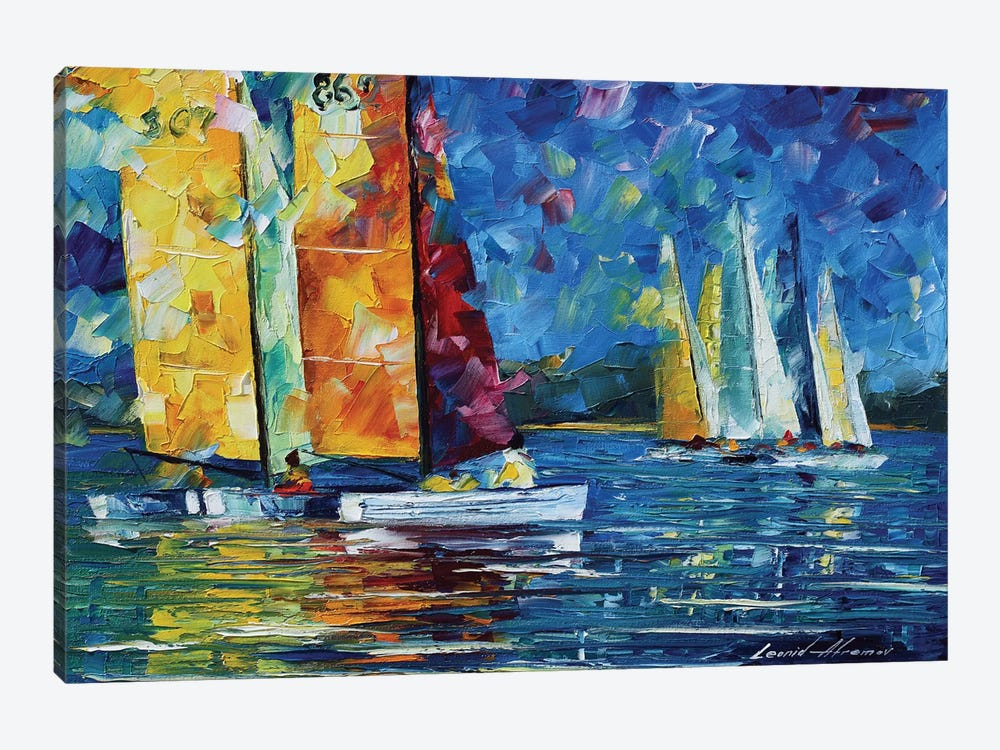 Close Encounter by Leonid Afremov 1-piece Canvas Art