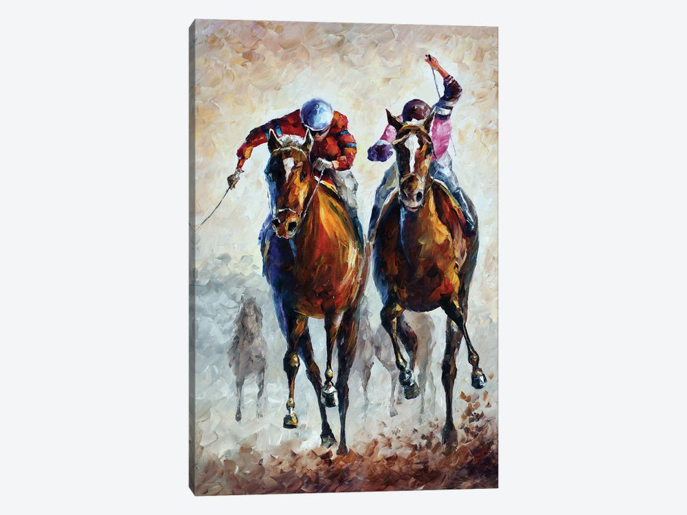 Contenders by Leonid Afremov 1-piece Canvas Wall Art