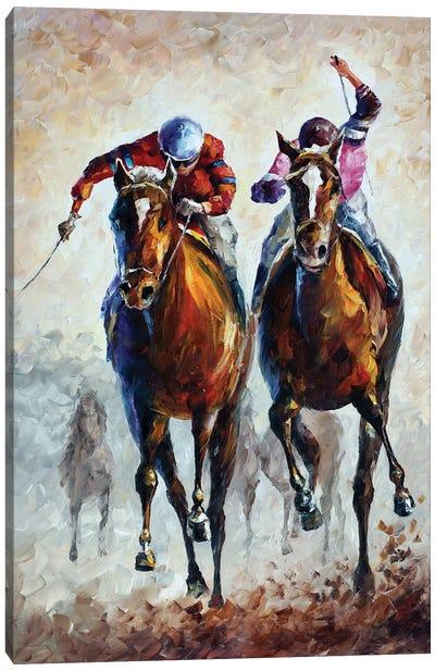 Contenders Canvas Art Print