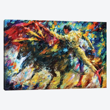Corrida II Canvas Print #LEA113} by Leonid Afremov Canvas Art Print