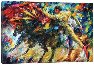 Corrida II Canvas Art Print