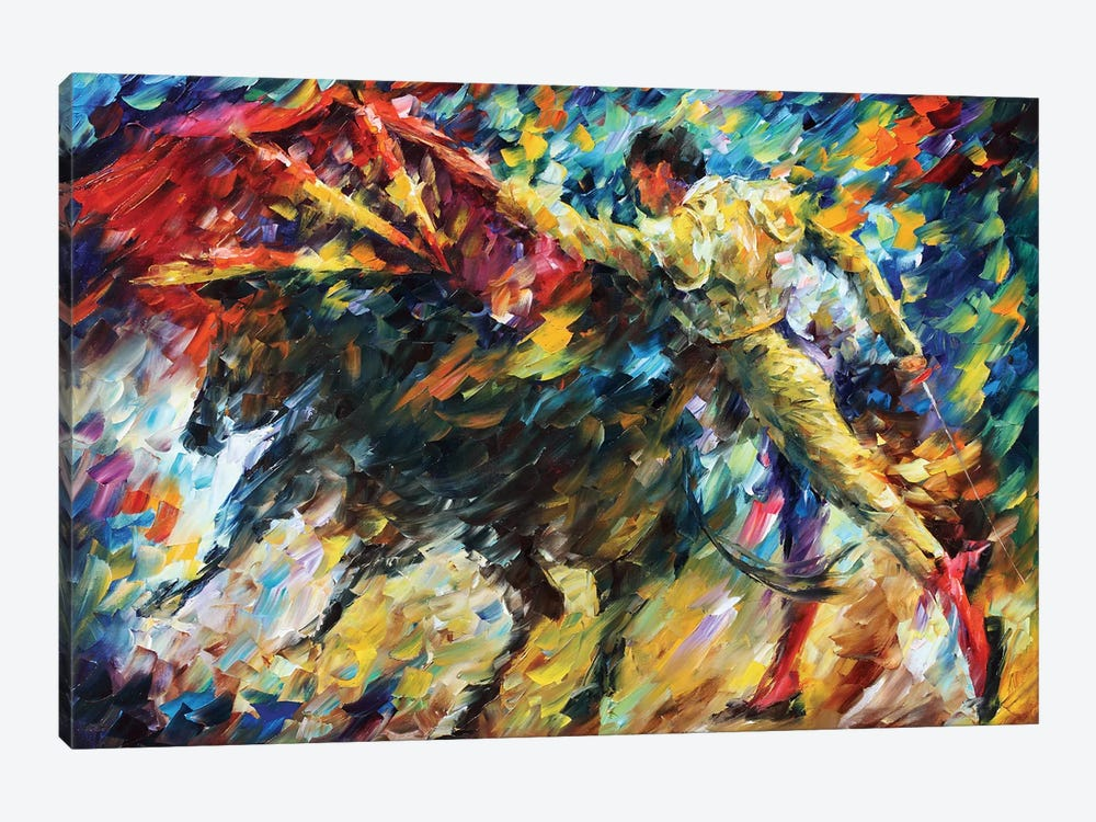 Corrida II by Leonid Afremov 1-piece Canvas Print