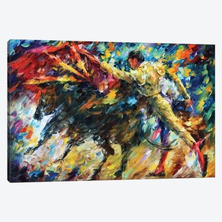 Corrida II Canvas Print #LEA113} by Leonid Afremov Canvas Art Print