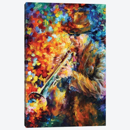 Elegant Sound Canvas Print #LEA114} by Leonid Afremov Canvas Art