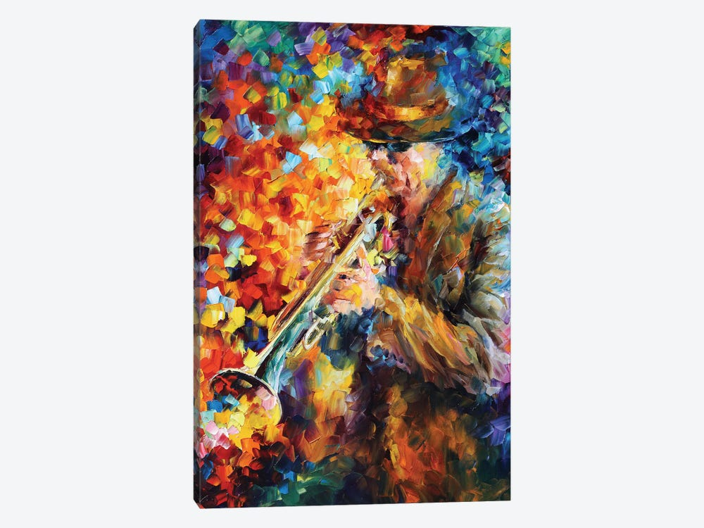 Elegant Sound by Leonid Afremov 1-piece Canvas Art