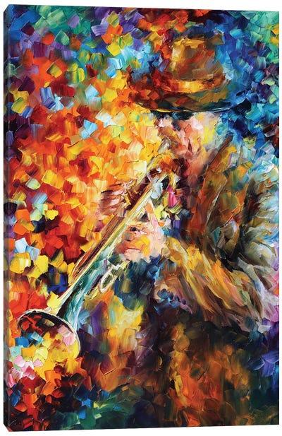Elegant Sound Canvas Art Print
