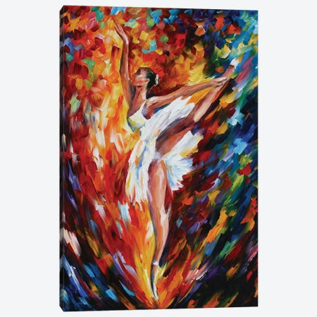 Flight Canvas Print #LEA117} by Leonid Afremov Canvas Art