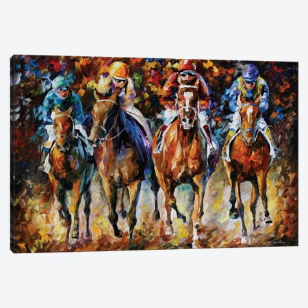 Follow The Leader Canvas Print #LEA118} by Leonid Afremov Canvas Print