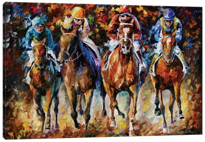 Follow The Leader Canvas Art Print