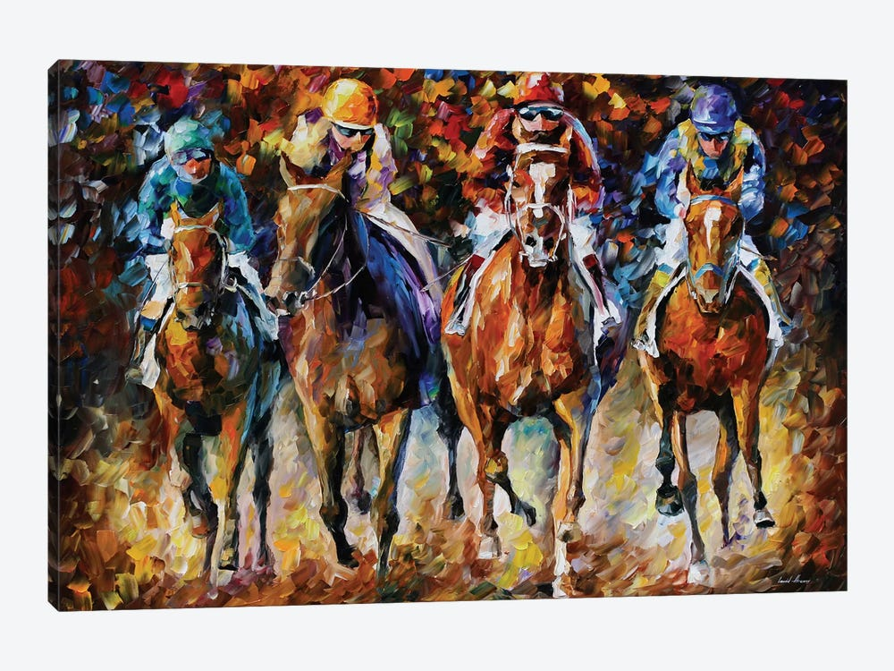 Follow The Leader by Leonid Afremov 1-piece Canvas Artwork
