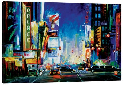 Broadway Canvas Print #LEA11