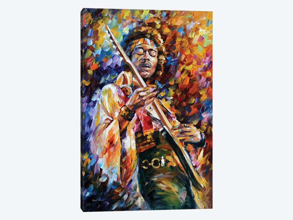 Jimi Hendrix by Leonid Afremov 1-piece Art Print