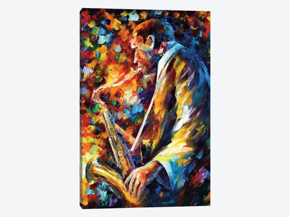 John Coltrane I by Leonid Afremov 1-piece Canvas Wall Art