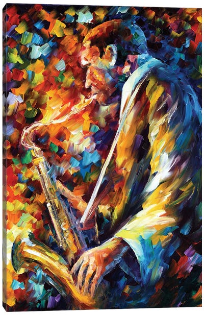 John Coltrane I Canvas Art Print