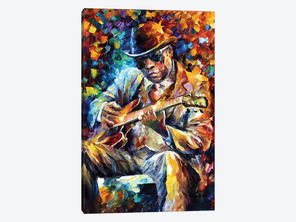 John Lee Hooker by Leonid Afremov 1-piece Canvas Wall Art