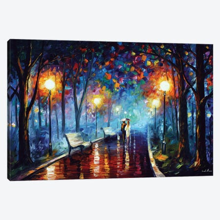 Misty Mood Canvas Print #LEA126} by Leonid Afremov Canvas Print