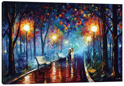 Misty Mood Canvas Art Print